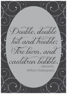 Free Macbeth Printable from Bombshell Bling