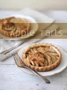 These use frozen dough and 3 apples to make 6. Looks easy. TheLittleEpicurean-mini-apple-tart
