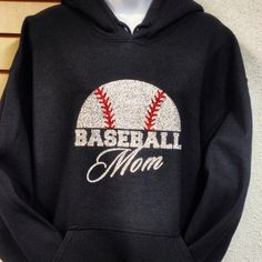 Baseball Mom Sports Mom Soccer Mom Hoodie by ToYourDoorDecor, $36.00