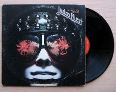 "Judas Priest ""Hell Bent For Leather"" Vinyl Record LP 1979 Heavy Metal"