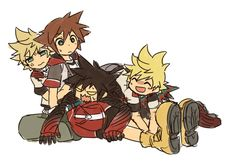 XD What the heck is going on you guys? Vanitas are you okay there? xP