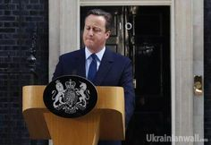 British PM Cameron resigns following referendum http://ukrainianwall.com/english-news/british-pm-cameron-resigns-following-referendum/  British PM Cameron resigns following referendum (video) British Prime Minister David Cameron has resigned in connection with the referendum results, according toMeduza, a Latvian-based online newspaper.  REUTERS  Cameron explained that