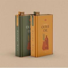 Tin Packaging Design Concept For Olive Oil Glass Packaging, Vintage Packaging, Print Packaging, Chip Packaging, Spices Packaging, Packaging Ideas, Pop Design, Glass Design, Olive Oil Brands
