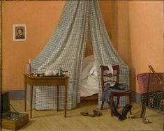 Painting, Sweden, 1830s. Photo: Peter Segemark, Nordiska museet.
