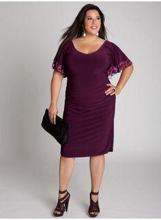 72df8ce3b788 Vestidos De Fiesta Casual, Vestidos Elegantes Para Gorditas, Vestido Para  Gorditas, Ropa Para