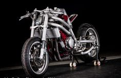 Hand-Build Motorcycle Stripped To Bare Minimum, And Yet Beautiful And Effective! Custom Bikes, Cars And Motorcycles, Motorbikes, Hands, Crotch Rockets, Bad Azz, Building, Bobbers, Cafe Racers