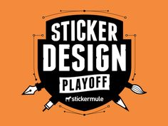 Sticker Design Playoff! from Sticker Mule...what if I have paintbrush, pencils, jewelry tools around logo??