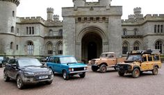 Land Rover Eastnor Castle