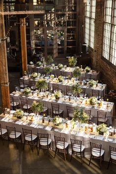 rectangle tables for wedding reception