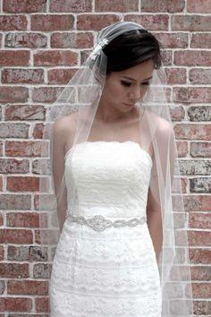 Acconciature sposa per capelli corti con velo (Foto) | Donna