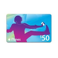 iTunes Gift Card. They make me happy.  =)