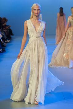Défile Elie Saab Haute couture Printemps-été 2014 -