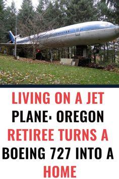 Living On a Jet Plane: Oregon Retiree Turns a Boeing 727 in. Funny Prank Videos, Funny Pranks, Funny Jokes, Hilarious, Boeing 727, Amazon Prime Day, Inspirational Qoutes, Wtf Fun Facts, Jet Plane