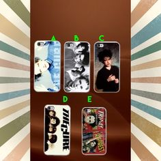 """THE CURE ROBERT SMITH IPHONE 5c 5/5s 6/6s 6/6 PLUS This a iPhone 5c 5/5s 6/6s 6/6s Plus phone case. It is made of durable hard plastic.Easy snap-on design for a lightweight feel and great phone protection. PLEASE SPECIFY WHAT SIZE CASE AND LETTER OF PICTURE.  CafeCases- """"Where cases tell a story..."""" Apple Accessories Phone Cases"""