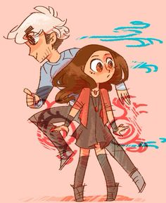 the maximoff twins are actually the cutest ok