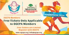 Marathon 2016... 7 FEB 2016...OGCPA Members: free Tickets...only applicable to OGCPA members ….. free tickets are limited....register with OGCPA.. http://ogcpa.org/
