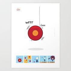 Trick Art Print by theMonsterMec - $17.68