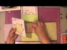 My 6x6 flip flap mini album made following Marikos tutorial chibichibiandmilo on youtube. :)