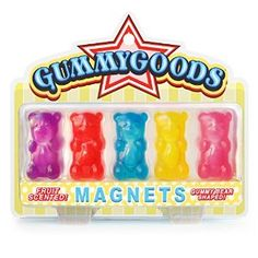 Amazon.com: Gummygoods Magnets: Refrigerator Magnets: Kitchen & Dining