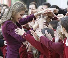 La princesa Letizia, de nuevo solidaria con las enfermedades poco frecuentes