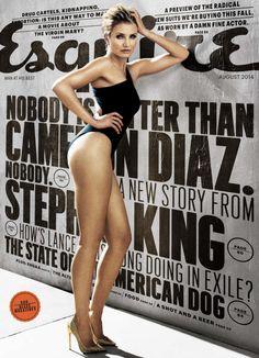 Cameron Diaz for Esquire Magazine August 2014