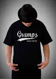 5dd45dc9f53 Gramps since ANY year screen print t-shirt