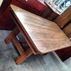 Birdseye Blackbutt Timber Dining Table Tables By