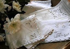 I love these, they're like vintage handkerchiefs!