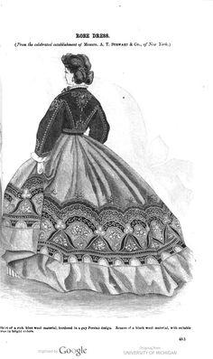December 1864 Godeys Magazine