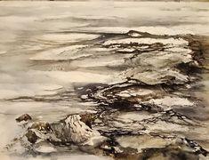 Reads like water? #inprogress#practice#älv#torneälv#water#watercolorpainting#akvarell#akvarellmuseet#övar