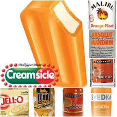 Creamsicle Pudding Shots 1 small Pkg. vanilla instant pudding ¾ Cup Milk 3/4 Cup Orange flavored liquor of your choice 8oz tub Cool Whip Directions 1. Whisk together the milk, liquor, and instant pudding mix in a bowl until combined. 2. Add cool whip a little at a time with whisk. 3.Spoon the pudding mixture into shot glasses, disposable shot cups or 1 or 2 ounce cups with lids. Place in freezer for at least 2 hours