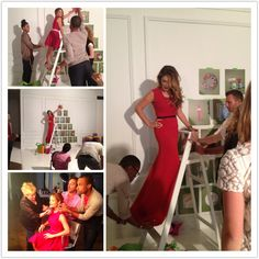 Behind the scenes: Target Holiday Shoot 2012