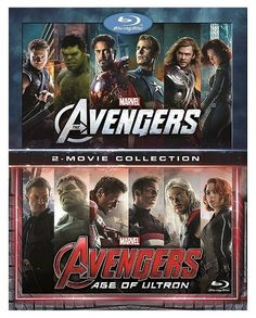 Marvel's Avengers: 2-Movie Collection (Blu-ray) action adventure movie