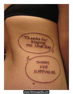 31 popular tattoos for women – sexy, not shocking funny tattoo quotes, small quote Funny Tattoo Quotes, Short Quote Tattoos, Inspiring Quote Tattoos, Tattoo Quotes For Men, Tattoo Quotes About Life, Funny Girl Quotes, Funny Tattoos, Woman Quotes, Tattoos For Guys