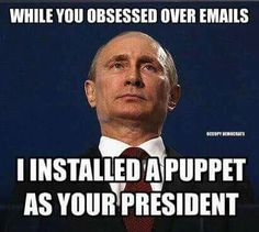"""""""No puppet, no puppet.  YOU'RE the puppet.""""  Quote from the puppet himself."""