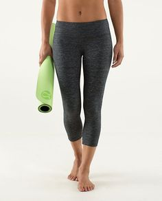 LuluLemon   Wunder Under Crop Love these! Such a must-have and so comfy