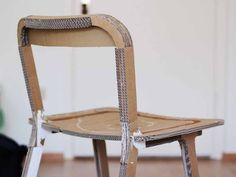 Tray #chair, #design Davide Dante Valerio. #furniture #mockup #cardboard