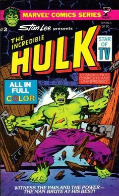 The Incredible Hulk #2 (1979) published by Pocket Books.
