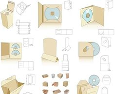 printable cd packaging by Godolphin Grandma Paper Packaging, Pretty Packaging, Gift Packaging, Packaging Design, Packaging Ideas, Origami, Pochette Cd, Diy Box, Box Design