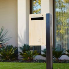 We believe that your mailbox should be as stylish and well designed as the home it's attached to, so we specifically developed the Javi Letterbox