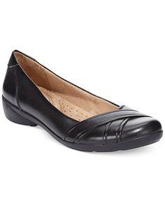 fbc93d590a4bd Naturalizer Nariko Flats - Flats - Shoes - Macy s Comfortable Fashion