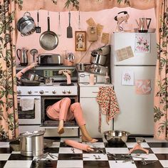 """Never piss off the person that cooks your Christmas dinner"", photography by Patty Carroll, photo by Ronny De Vylder, pinned by Ton van der Veer"