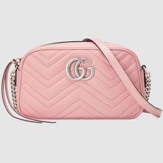 Chain Shoulder Bag, Small Shoulder Bag, Leather Shoulder Bag, Shoulder Strap, Chevron, Fall Handbags, Gucci Handbags, Gucci Bags, Gucci Purses