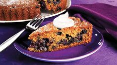 It may sound a little unusual, but ginger and blueberries are a perfect match. This recipe is from Mary Ann.