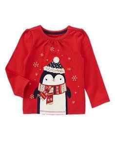 NWT Gymboree COZY PENGUIN 2015 Christmas//Holiday Red 2p Pajamas//Gymmies Boy//Girl