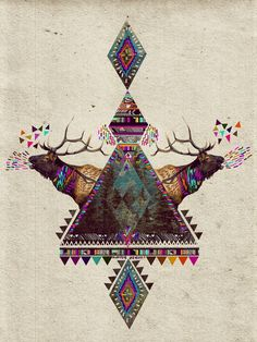 VOICES OF THE FOREST Art Print by Kris Tate
