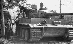 Panzerkampfwagen VI Tiger (8,8 cm L/56) Ausf. E (Sd.Kfz. 181) Nr. 312