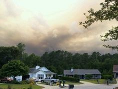Croatan prescribed burn turns to wildfire.