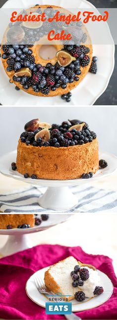 """Take everything you know about angel food cake, put it in a box marked """"outdated,"""" and kick it to the curb."""