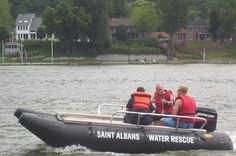 St. Albans Water Rescue Boat